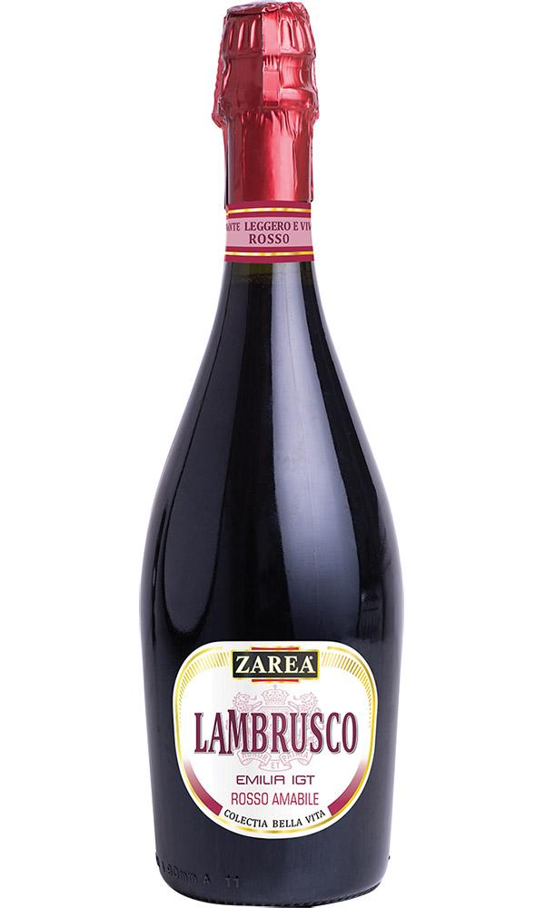 ZAREA Lambrusco Rosu Demidulce I.G.T, Colecția Bella Vita